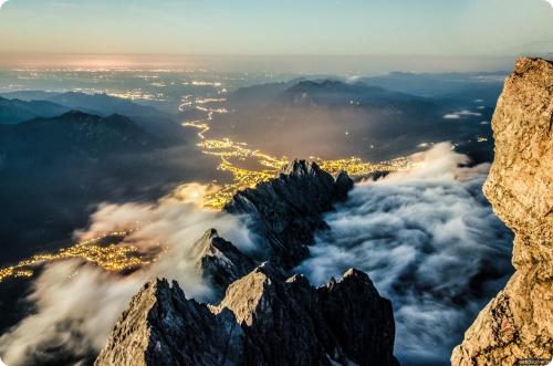 Германия: В Гармиш-Партенкирхе катание разделено на две зоны — Цугшпитце и Гармиш Классик